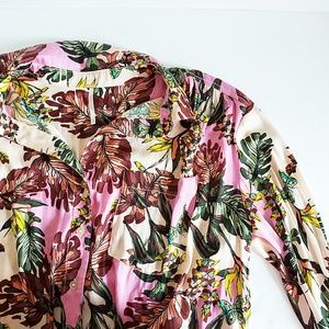 Free People Under the Palms Button Blouse - Size S